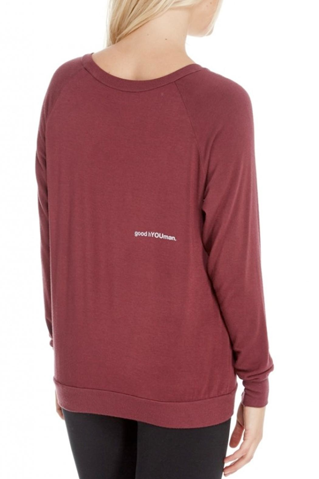 GoodhYOUman Chelsea Boatneck Pullover - Front Full Image