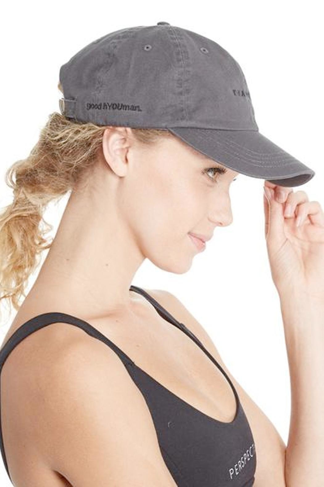 GoodhYOUman Dad Baseball Cap - Side Cropped Image