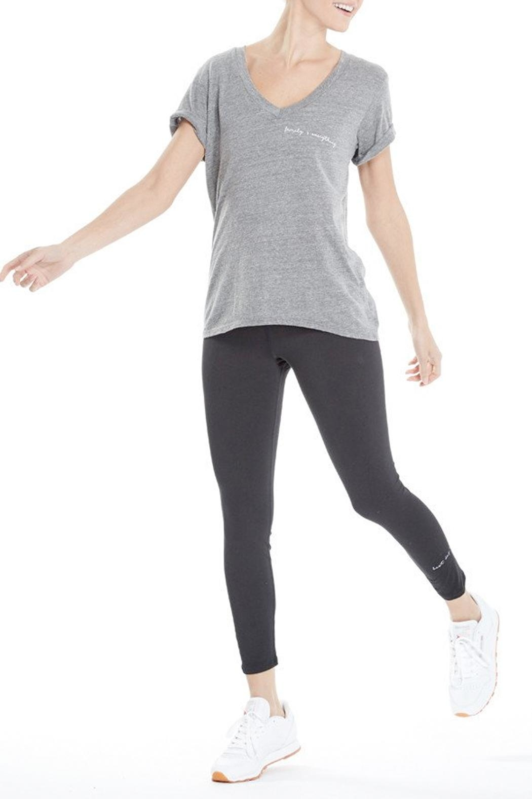good hYouman Aiden V-Neck Tee - Side Cropped Image