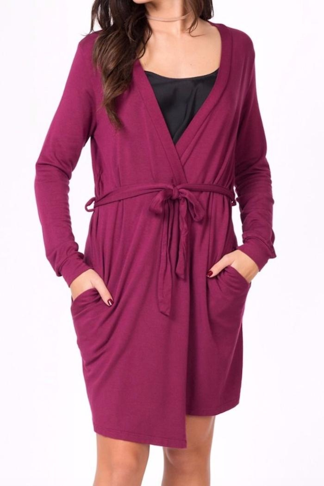 good hYouman Your Face Robe - Front Cropped Image