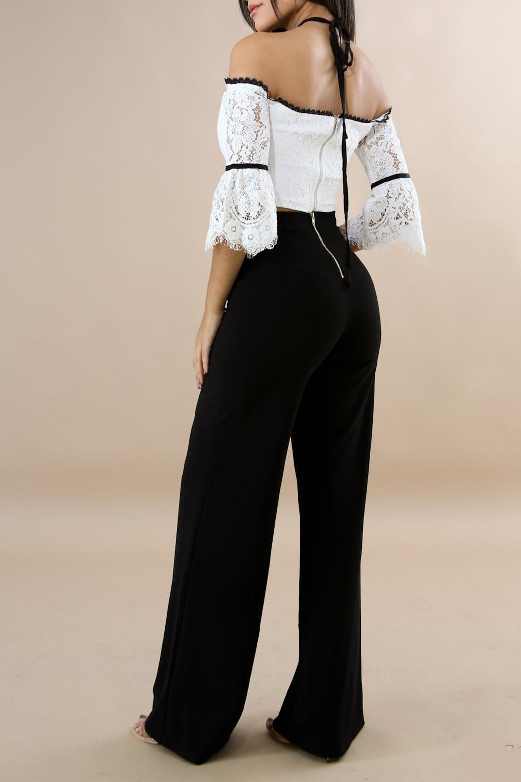 Good Time Classic Palazzo Pants - Front Full Image