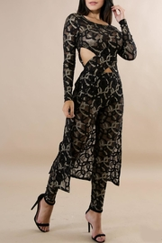 Good Time Lace Metallic Sets - Front full body