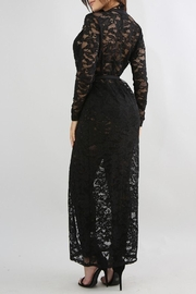 Good Time Lace Robe Sets - Back cropped