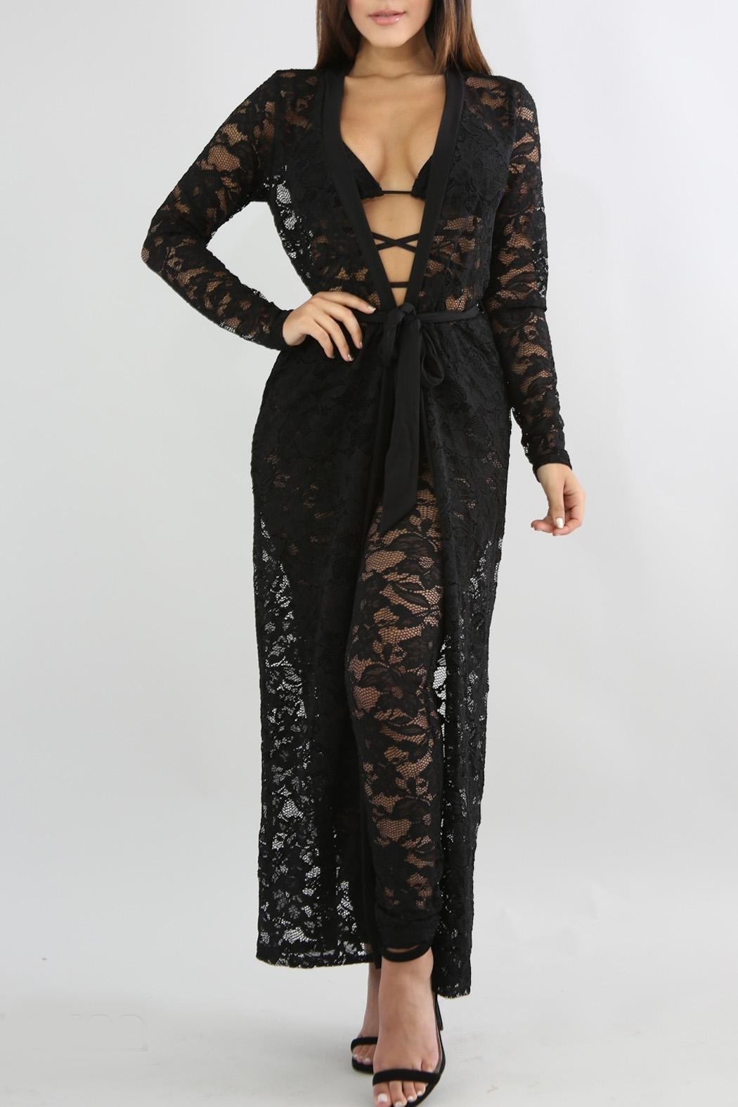 Good Time Lace Robe Sets - Main Image