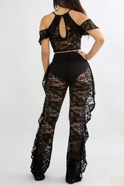Good Time Lace Ruffle Sets - Side cropped