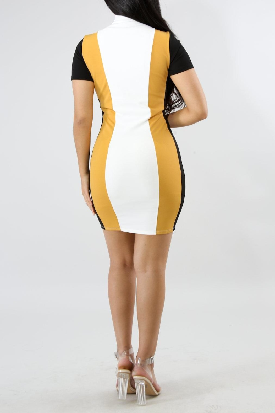 Good Time Race Dress - Side Cropped Image