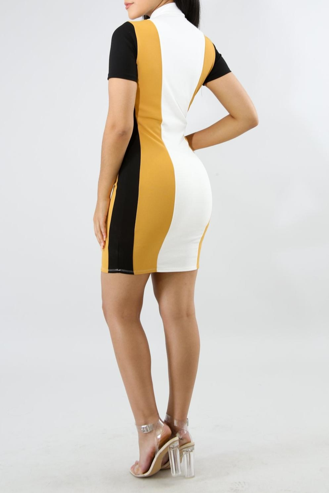 Good Time Race Dress - Front Full Image