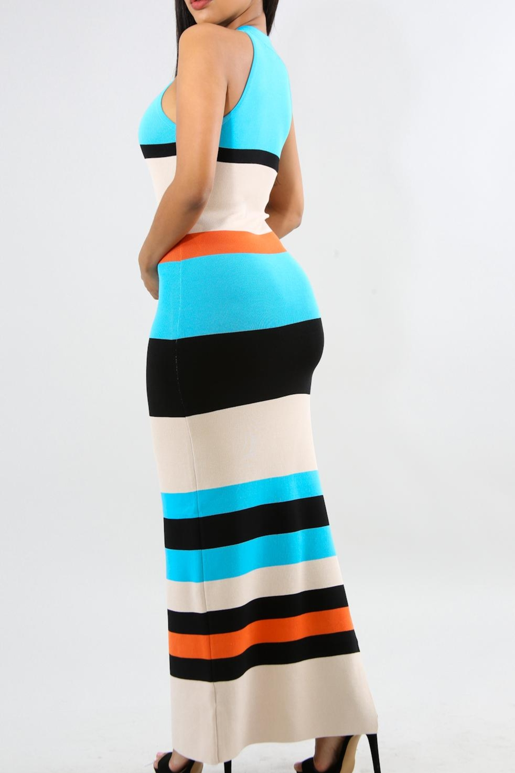 Good Time Ribbed Maxi - Front Full Image