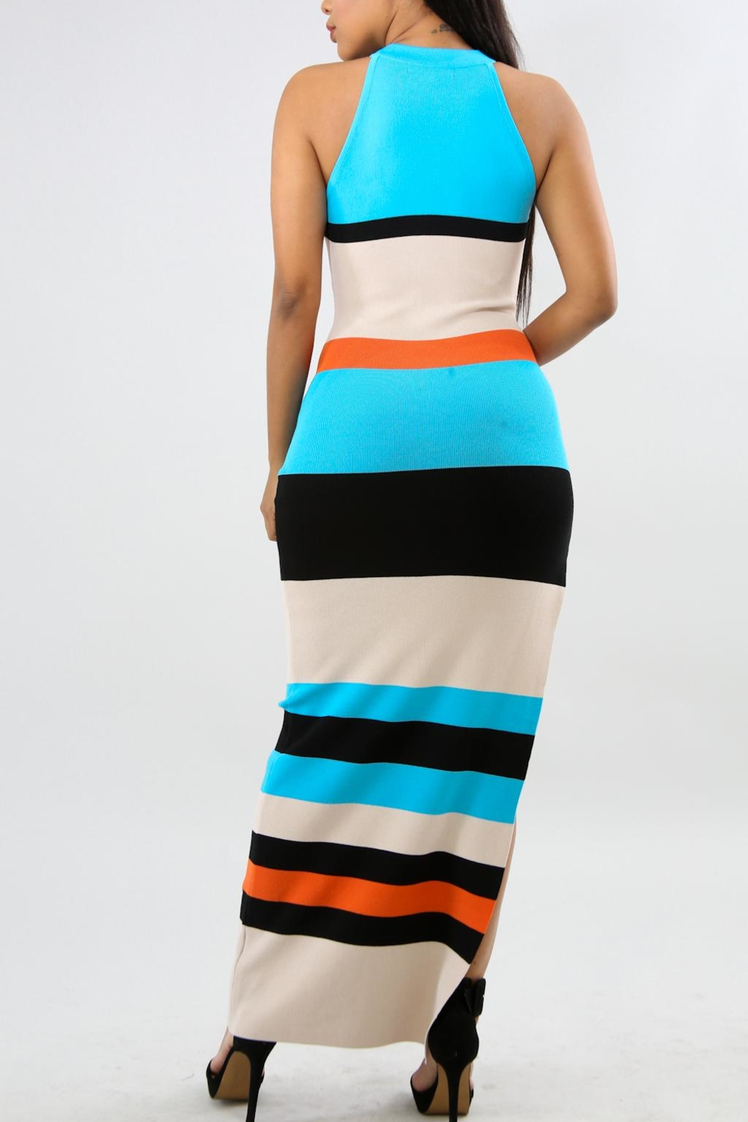 Good Time Ribbed Maxi - Side Cropped Image