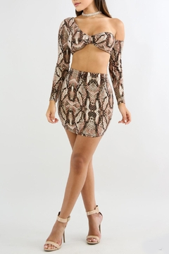 Shoptiques Product: Snake Print Sets