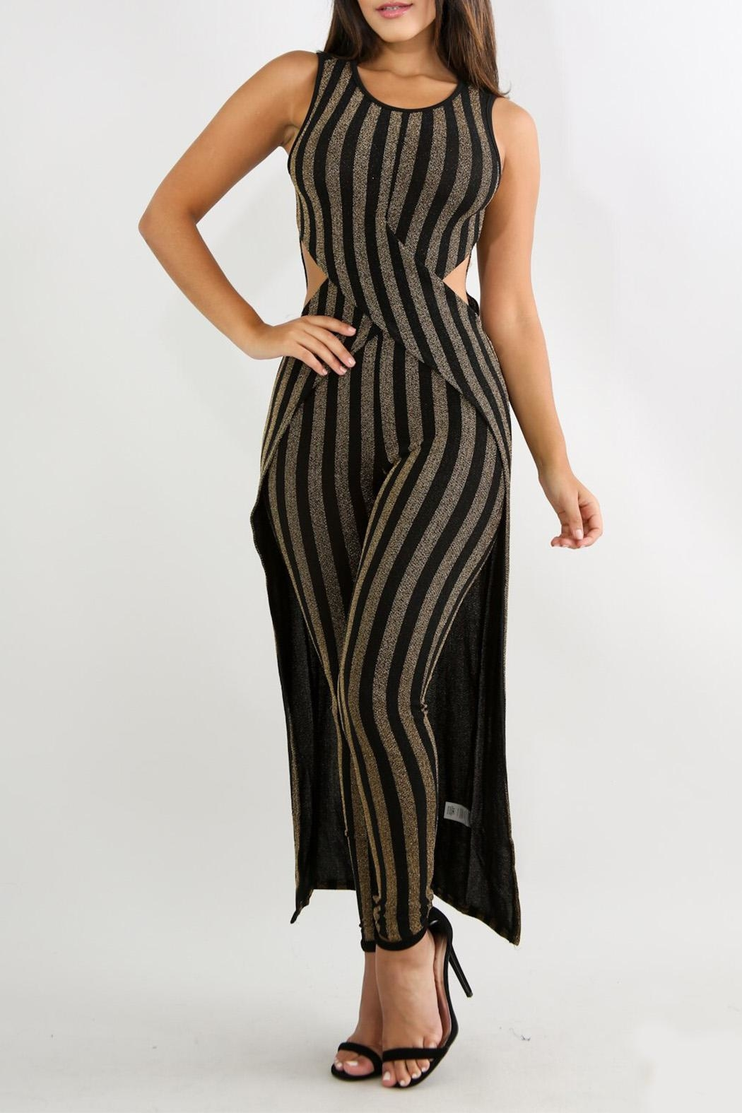 Good Time Stripe Knit Sets - Front Cropped Image