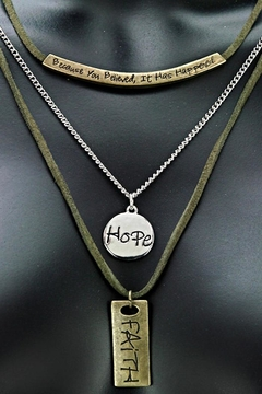 GOOD WORKS Trinity Necklace - Product List Image