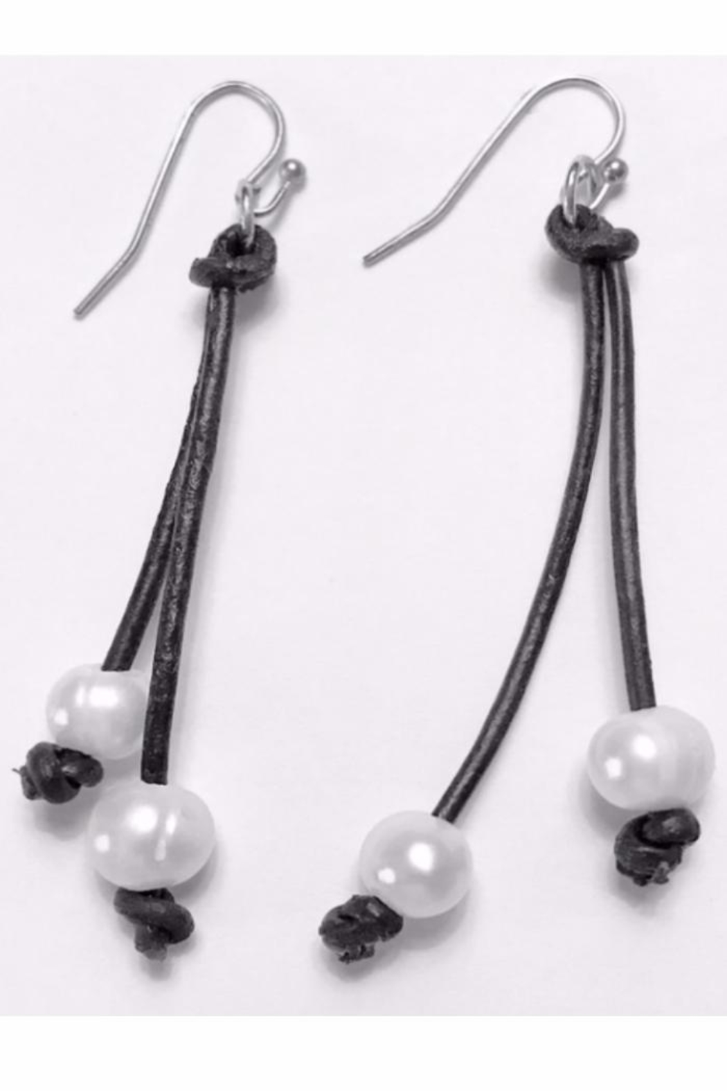 Twisted Designs Freshwater Pearl Earrings - Main Image