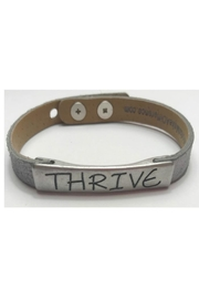 GOOD WORKS Good-Works Thrive Leather-Bracelet - Front full body