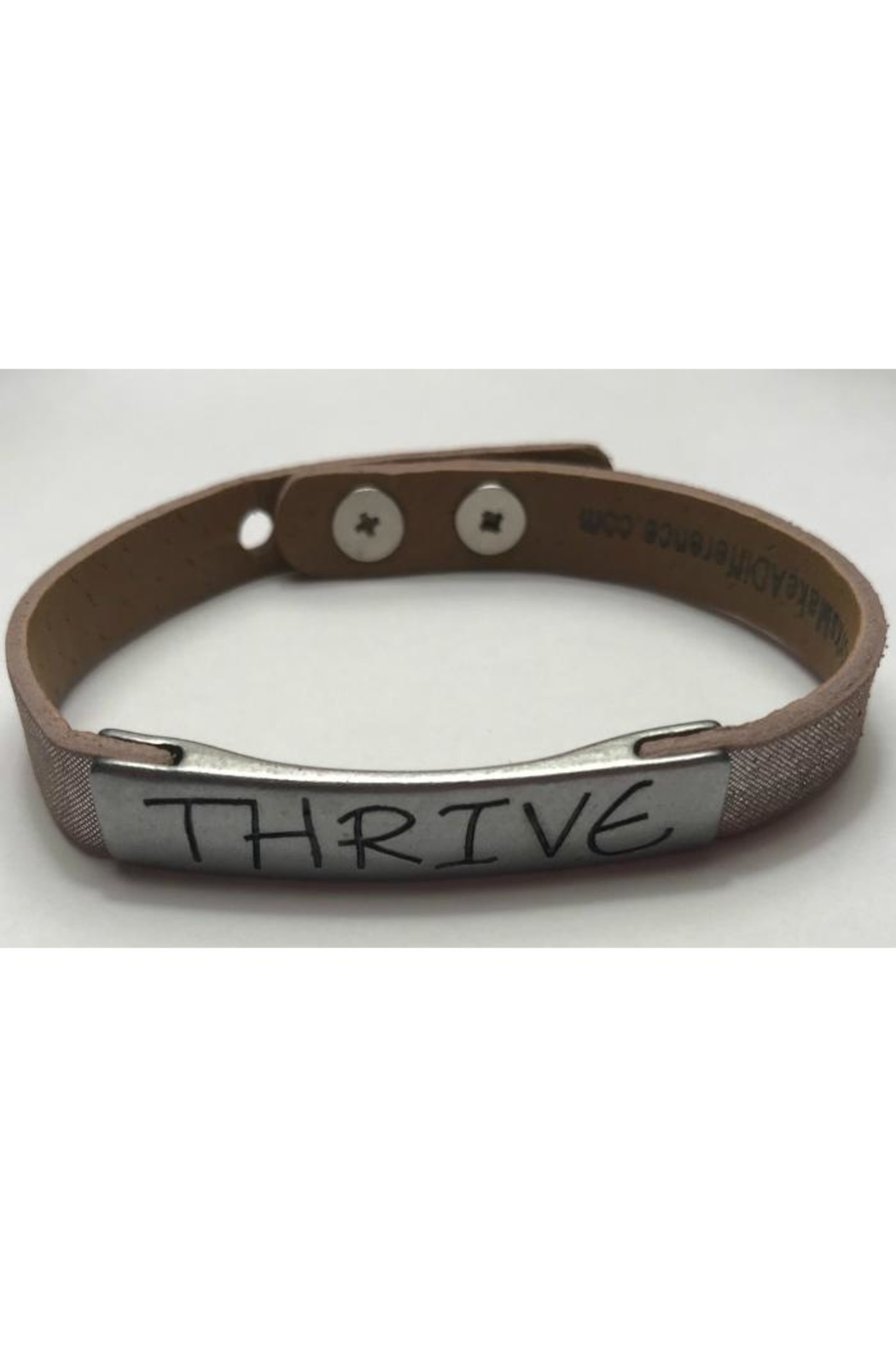 GOOD WORKS Good-Works Thrive Leather-Bracelet - Front Full Image