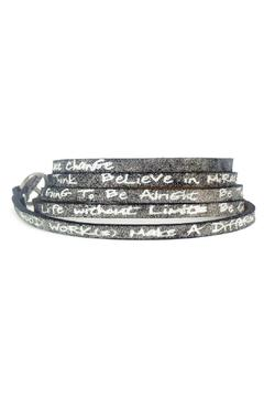 Shoptiques Product: Goodworks Leather Wrap Bracelet