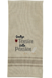 Park Designs Goodbye Tension Dishtowel - Product Mini Image