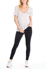 GoodhYOUman Aiden V-Neck Tee - Front full body
