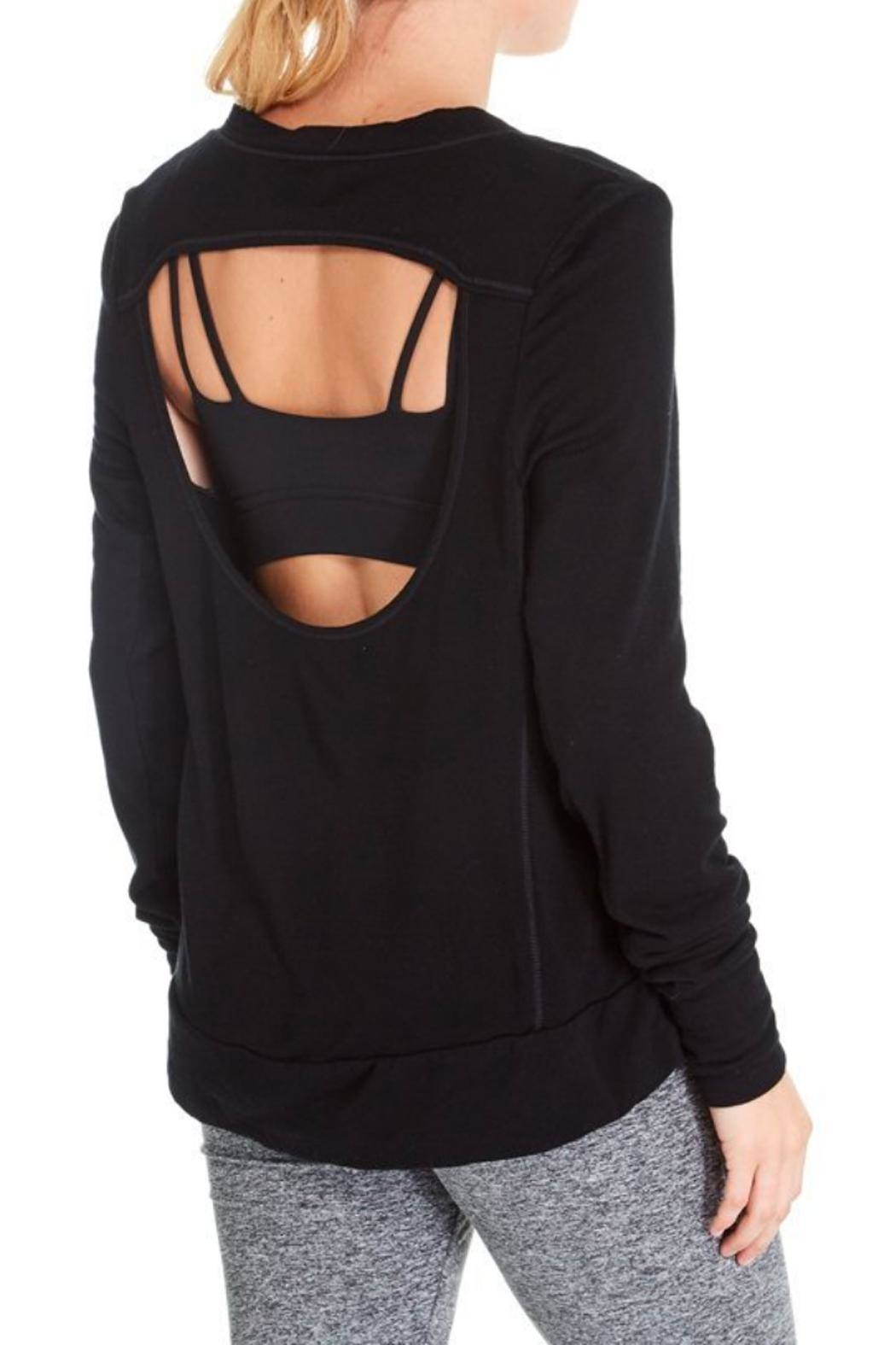 GoodhYOUman Jules Open-Back Pullover - Side Cropped Image