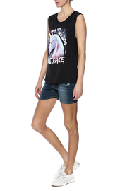 Goodie Two Sleeves Sleeveless Tee - Front full body