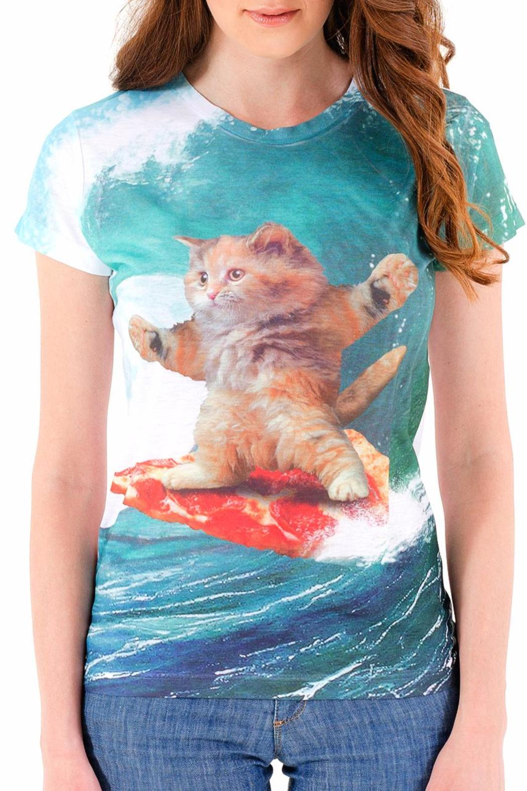 Goodie Two Sleeves Surfs Up Tee - Main Image
