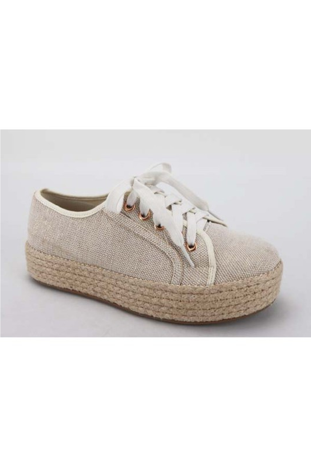 Bamboo Goodies-05 Espadrille Sneaker - Front Full Image