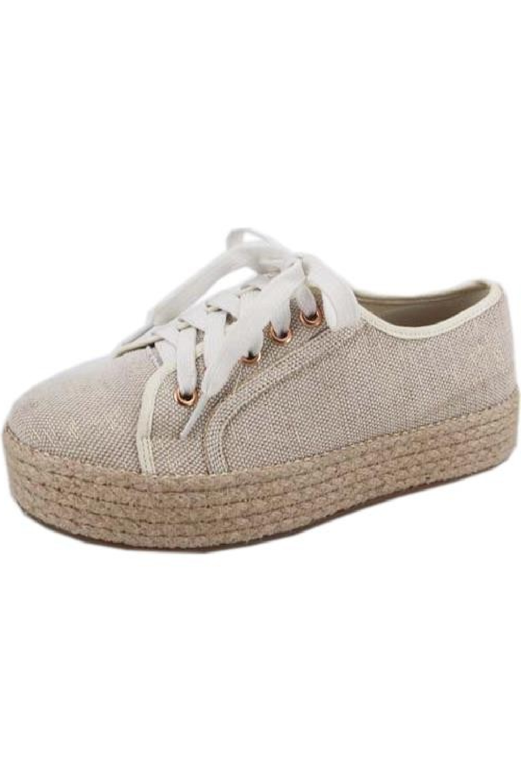 Bamboo Goodies-05 Espadrille Sneaker - Front Cropped Image