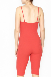 Goodtime Bandage Tomato Jumpsuit - Back cropped