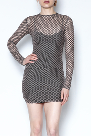 Goodtime Sheer Bodycon Dress - Product Mini Image