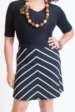 Shoptiques Product: Chevron Diagonal Skirt