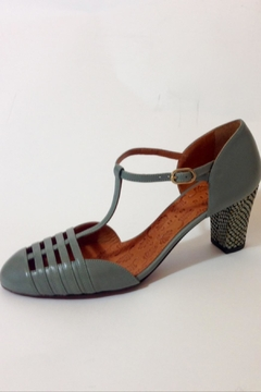 Chie Mihara Gorgeous Graygreen Shoe - Product List Image