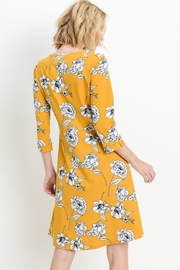 Les Amis Gorgeous Mustard-Floral Dress - Other