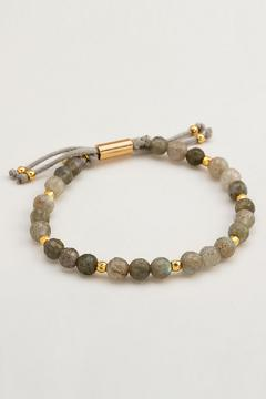 Shoptiques Product: Beaded Power-Gemstone Bracelet