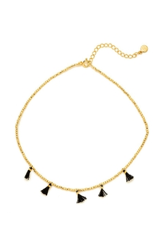 Shoptiques Product: Black Tassel Choker