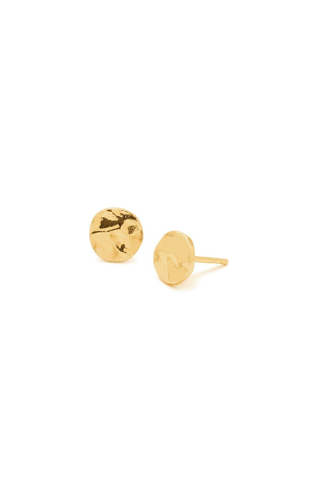 Gorjana Chloe Hammered Stud Earrings - Main Image