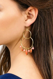 Gorjana Eliza Coral Earrings - Product Mini Image