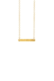 Gorjana Knox Bar Necklace - Product Mini Image