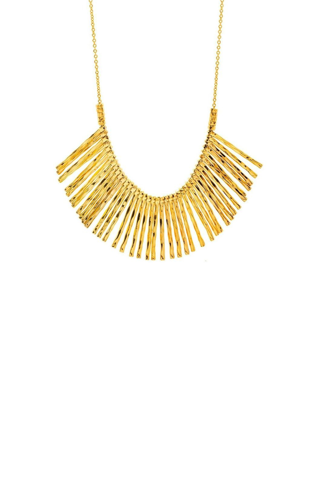 Gorjana Kylie Fan Necklace - Front Cropped Image