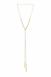 Gorjana Laguna Adjustable Necklace - Front cropped