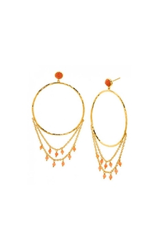 Gorjana Sol Draped Earrings - Alternate List Image
