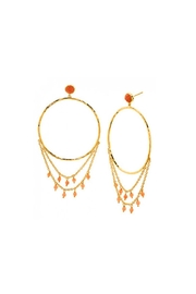 Gorjana Sol Draped Earrings - Product Mini Image