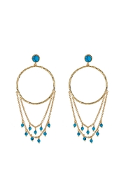 Gorjana Turquoise Chandelier Earrings - Product Mini Image