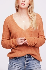 Free People Gossamer Vneck Sweater - Product Mini Image