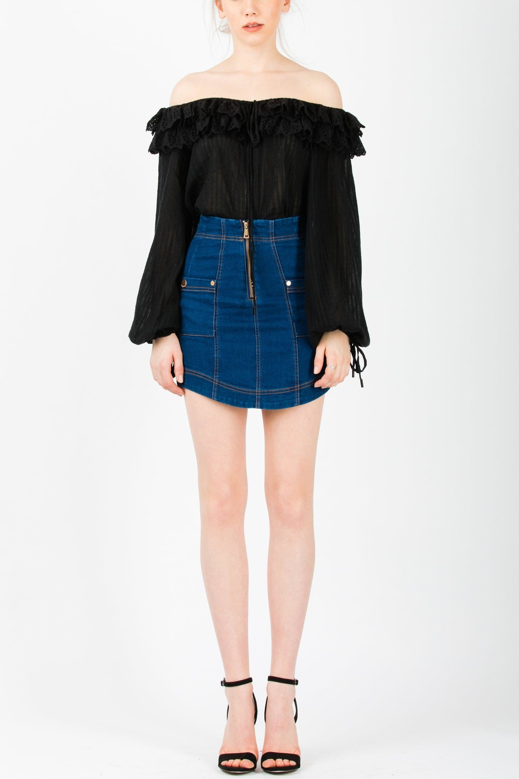 Alice McCall  Got-Me-Good Top - Front Full Image