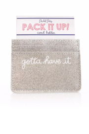Packed Party Gotta Have It Card Holder - Product Mini Image