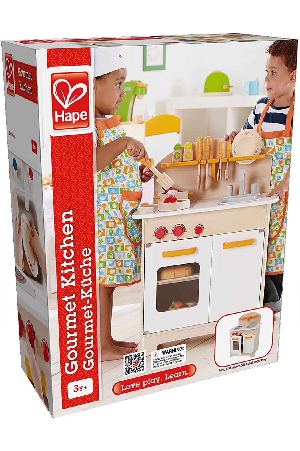 Hape Gourmet Kitchen - Back Cropped Image