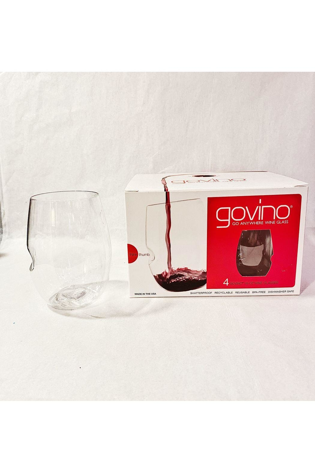"Govino ""Go Anywhere"" Wine Glass - Front Cropped Image"