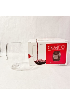 "Shoptiques Product: ""Go Anywhere"" Wine Glass"