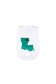 Govino Louisiana Wine Glasses - Front cropped