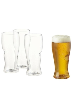 Shoptiques Product: Monogrammed Pilsner Glasses